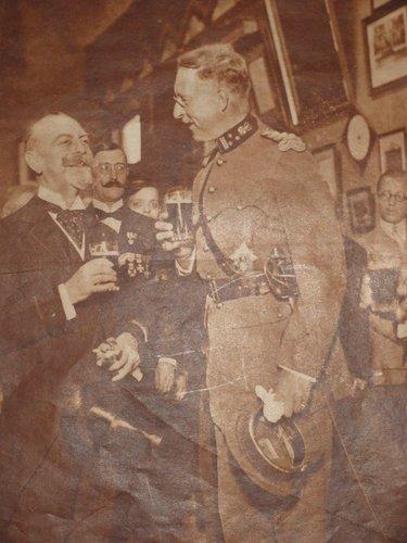 Visite de S.M. le Roi Albert Ier
