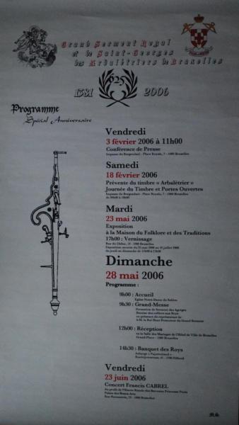 Affiche 625e anniversaire