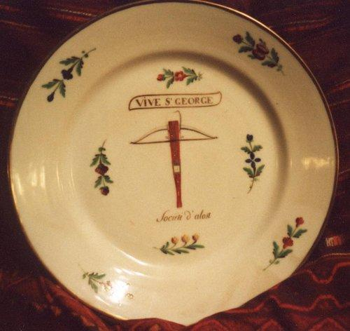Assiette Saint-Georges Alost