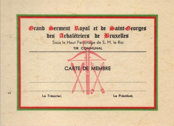 Ancienne carte membre