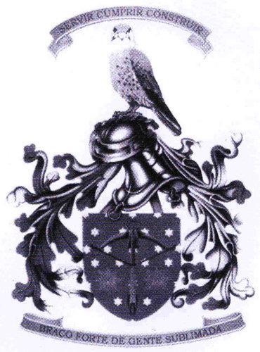 Armoiries d'une unité militaire Portugaise