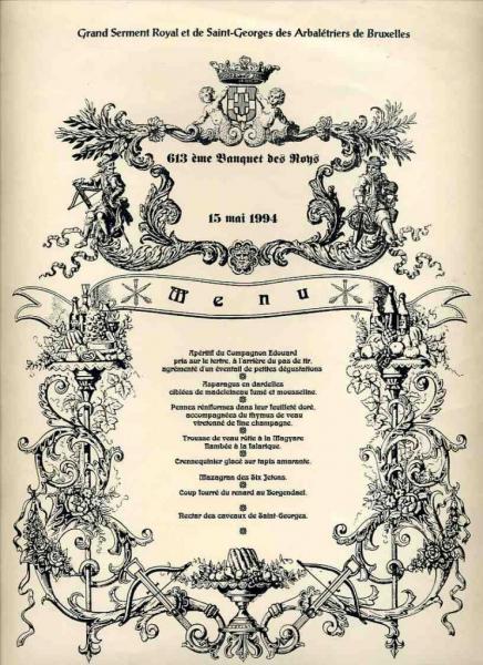 Banquet Roys anno 613 (15/05/1994)