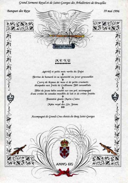 Banquet Roys anno 615 (19/05/1996)