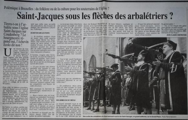 Borgendael  (Le soir 20 janvier 1994)