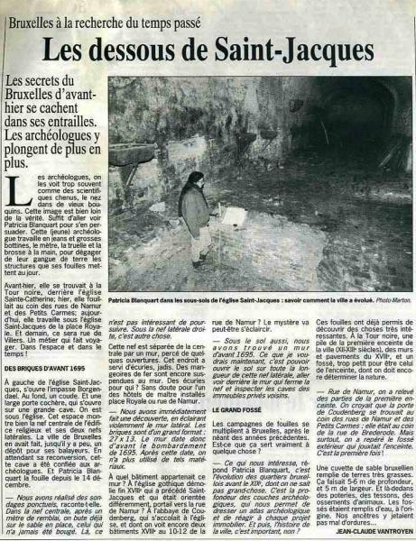 Borgendael (Le Soir 25 janvier 1994)