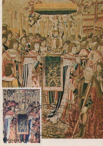 Elément central, 4ème tapisserie de Tassis