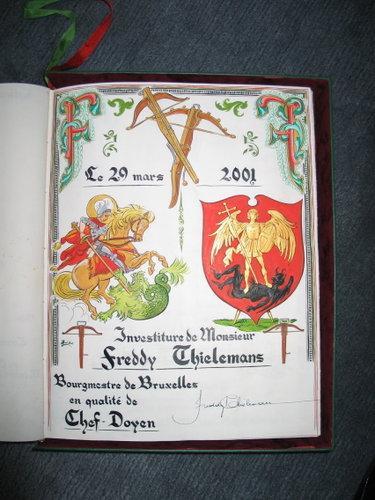 Page du Livre d'Or