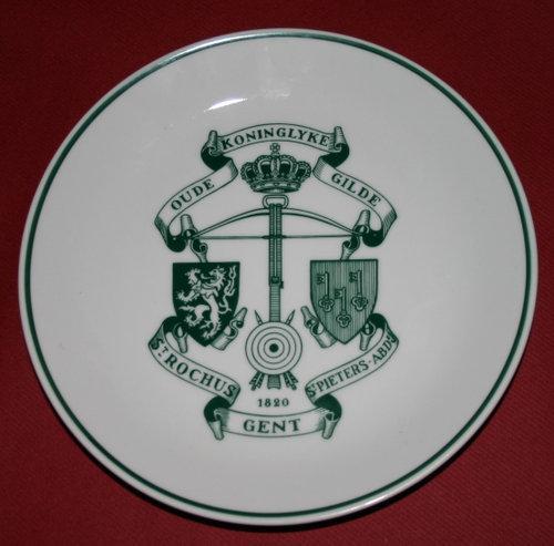 Assiette Sint-Rochus Gent