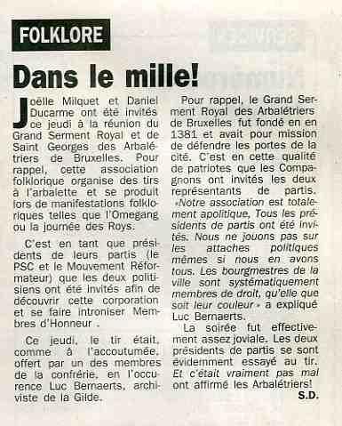 Ducarme,Milquet (La Lanterne 30 mars 2002)