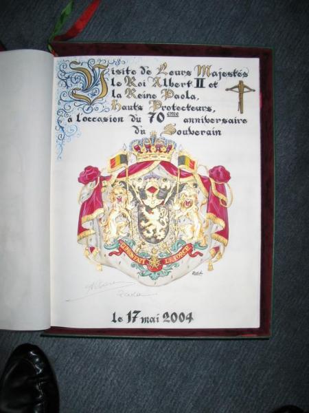 Visite de LL.MM.le Roi Albert II et la Reine Paola