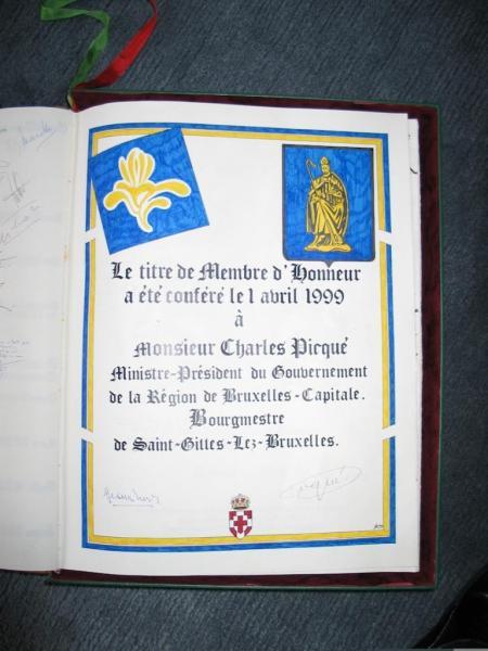 Charles PICQUE Membre d'Honneur