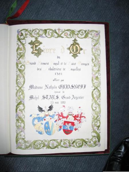 Livre d'Or offert par Natacha GRIASNOFF