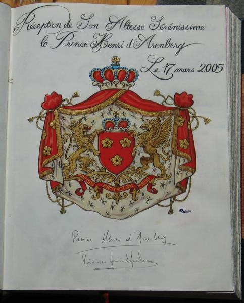 LL.AA.SS. Prince et Princesse Henri d'Arenberg