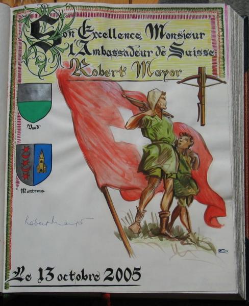 M. Robert MAYOR Membre d'Honneur