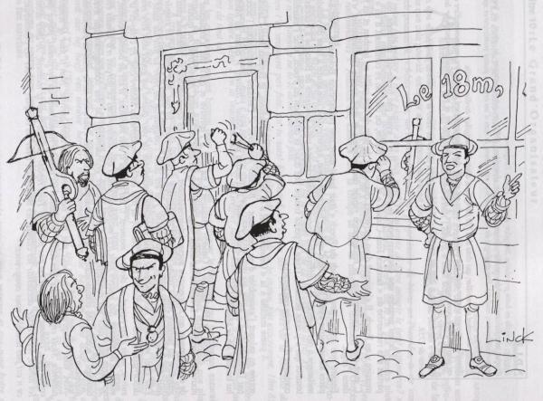 Bataille de Ransbeek, Illustration du chapitre 10
