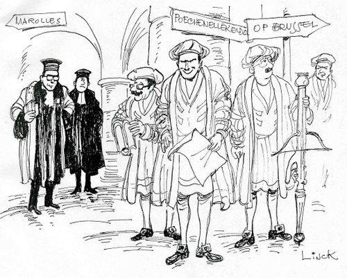 Bataille de Ransbeek, Illustration du chapitre 14