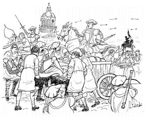 Bataille de Ransbeek, Illustration du chapitre 17
