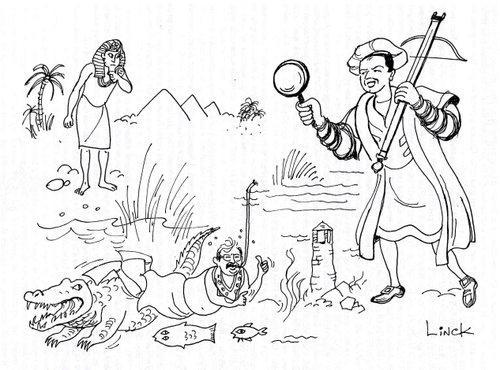 Bataille de Ransbeek, Illustration du chapitre 18