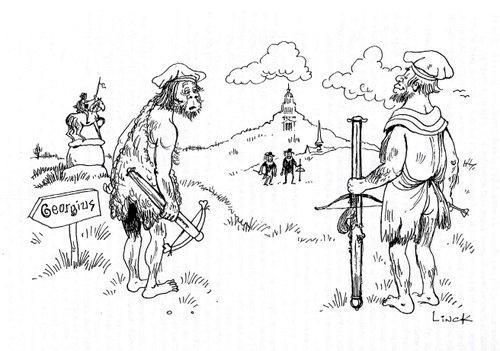 Bataille de Ransbeek, Illustration du chapitre 21