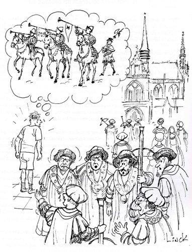 Bataille de Ransbeek, Illustration du chapitre 22