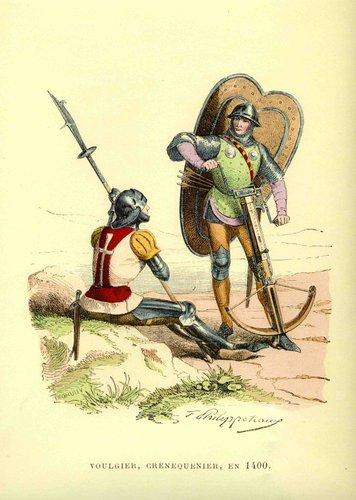 Voulgier et Crennequinier en 1400
