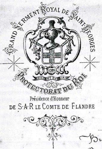En-tête de lettre utilisé entre 1870 et 1900