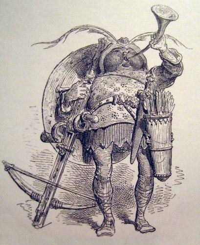 Arbalétrier de Gustave-Dore