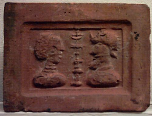 Brique de l'ancien Hôtel d'Arenberg de Braine-le-Comte 1599-1602
