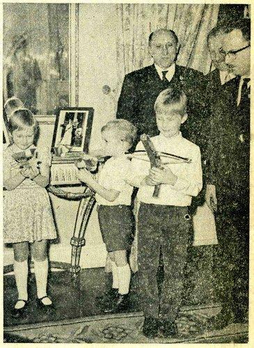 Prince Philippe à 7 ans