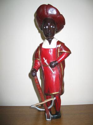 Statuette Baoulé (Artisan de Côte d'Ivoire - 2003)