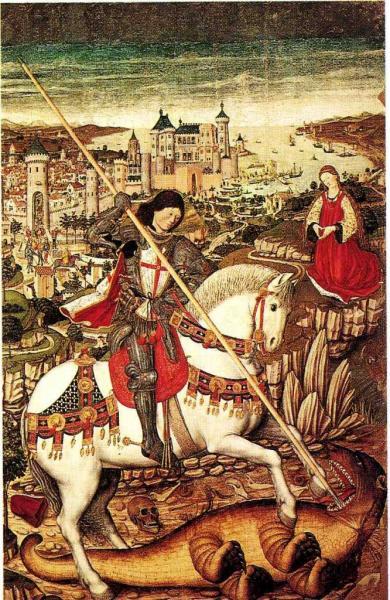 St-Georges et le dragon,Père Nissart et Raphaël Moger