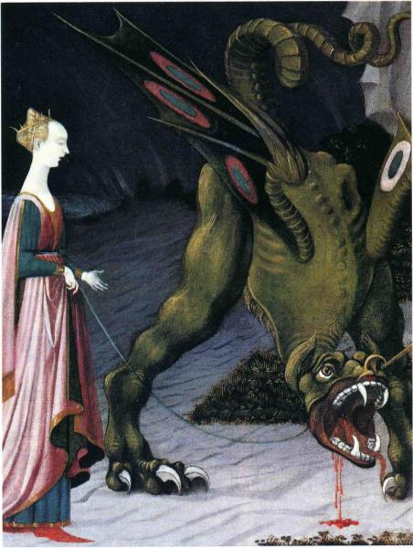 St-Georges et le dragon, Paolo Uccello (1455-1460)