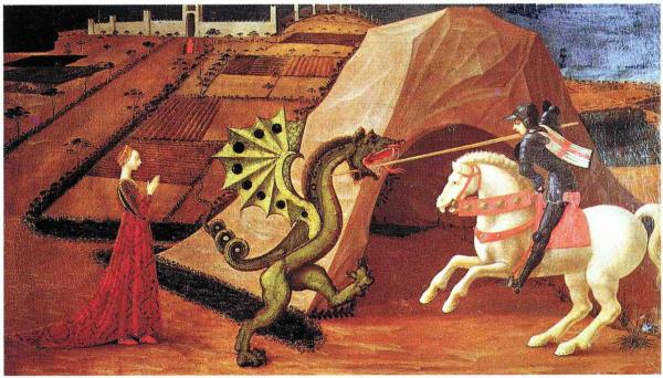 St-Georges et le dragon
