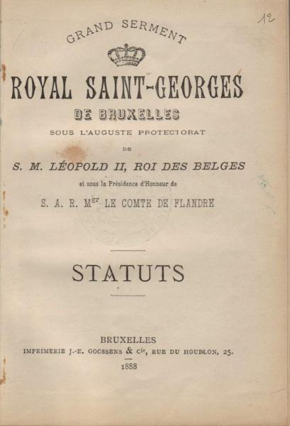 Statuts -1888