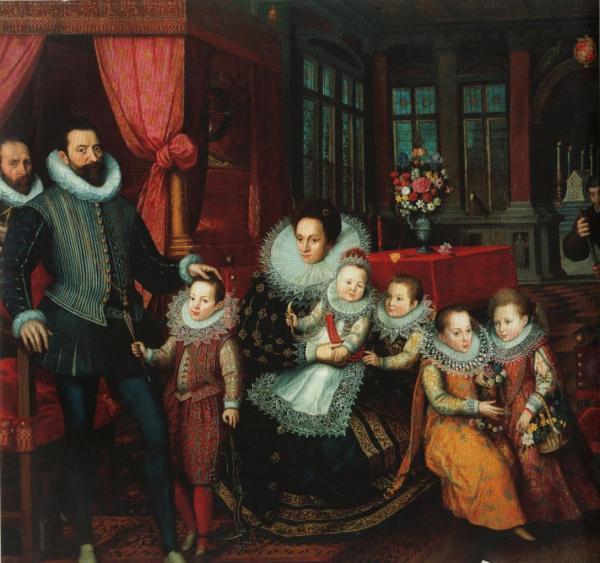 Portrait de famille d'Arenberg