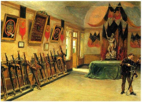 Oeuvre du peintre Ernest Van den Broeck (1881)